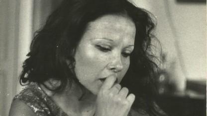 זיוה יריב בצעירותה (התצלום באדיבות יורם שדה וזיוה יריב)