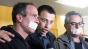 """רביב דרוקר לפני טקס קבלת פרס סוקולוב, דצמבר 2011 (צילום: """"העין השביעית"""")"""