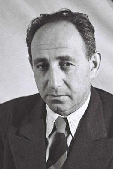 """אליעזר ליבנה, 1.12.51 (צילום: טדי בראונר, לע""""מ)"""