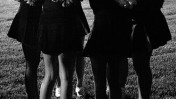 """קבוצת הפומפונים של תיכון במישיגן, ארה""""ב, לפני משחק (צילום: ג'סטין סילס, רישיון cc-by-nc-nd)"""