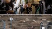 ישיבת בעלז, היום בירושלים; חיילים מחפשים אחר שרידי כלי הטיס שיורט, אתמול בדרום (צילומים: יונתן זינדל וצפריר אביוב)