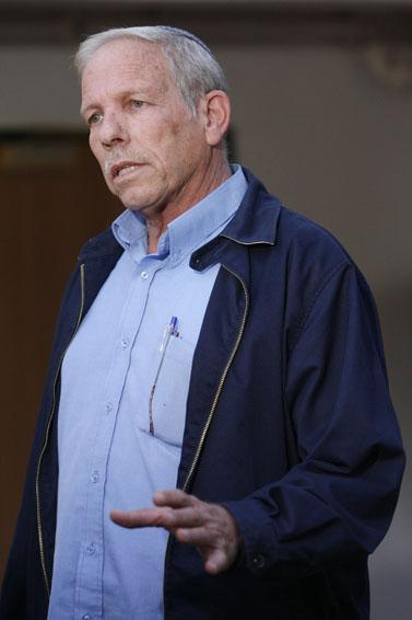 """יואל צור, בוועידה של מפלגת המפד""""ל, נובמבר 2008 (צילום: מיכל פתאל)"""