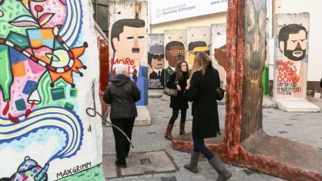 שאריות מחומת ברלין, השבוע (צילום: נתי שוחט)