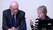 הוריה של מילי דאולר מעידים בפני ועדת לווסון (צילום מסך)