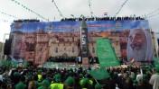 חגיגות 25 שנה להקמת חמאס, אתמול בעזה (צילום: עבד רחים חטיב)