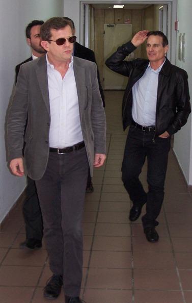 """ערן טיפנברון (משמאל) עם יון פדר, 2012 (צילום: """"העין השביעית"""")"""