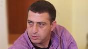 """זליג רבינוביץ', העוזר למנכ""""ל רשות השידור, השבוע בבית רשות השידור בירושלים (צילום: """"העין השביעית"""")"""