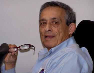 """דן מרגלית, היום בישיבת מועצת העיתונות (צילום: """"העין השביעית"""")"""