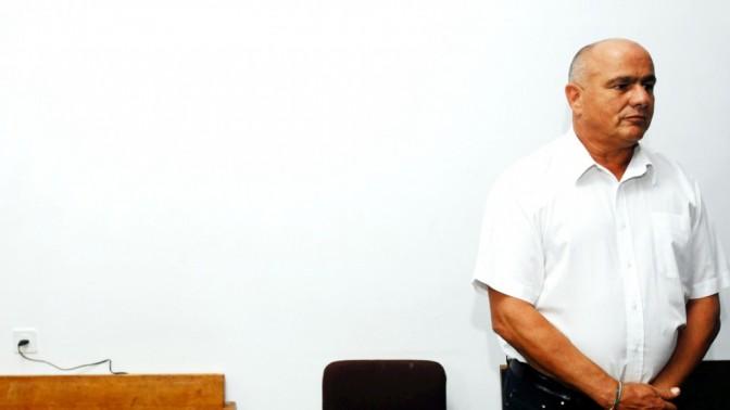 דני דנקנר בבית-המשפט המחוזי בתל-אביב, 8.11.12 (צילום: יוסי זליגר)