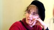 """ד""""ר דבורה הנדלר, חברת מליאת רשות השידור, בישיבת המליאה אתמול בירושלים (צילום: """"העין השביעית"""")"""