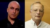 עקיבא אלדר (מימין) ודרור אידר (צילומים: עקיבא אלדר, רישיון שיתופי; צילום מסך של ערוץ הכנסת)