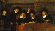 """""""הנאמנים של גילדת עושי הבגדים"""", רמברנדט, 1662"""