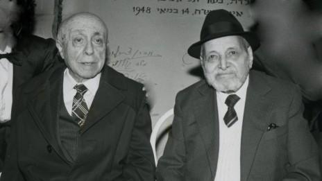 הרצל רוזנבלום (משמאל) (צילום: משה שי)