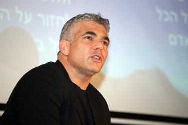 יאיר לפיד, ינואר 2011 (צילום: אורן בן-חקון)