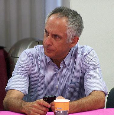 """ד""""ר מיכאל (מיקי) מירו, מנהל קול-ישראל (צילום: """"העין השביעית"""")"""