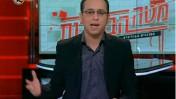 """נדב פרי מגיש את """"מטה הבחירות"""" בערוץ 10 (צילום מסך)"""