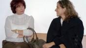"""ליאורה גלט-ברקוביץ' (משמאל) ועו""""ד רקפת פלד (צילום: """"העין השביעית"""")"""