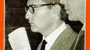 """מעצרו של רודולף אוגשטיין, מו""""ל העיתון """"דר שפיגל"""", על שער הגיליון מה-7 בנובמבר 1962"""