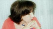 """רותי יובל, הערב בישיבת מועצת העיתונות (צילום ועיבוד: """"העין השביעית"""")"""