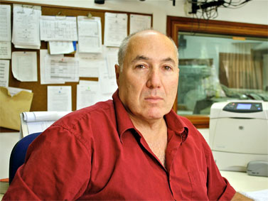 יאיר קורן, מנהל חטיבת החדשות (רשת ב') הנכנס של קול-ישראל (צילום: אוהד שטמלר, דוברות רשות השידור)