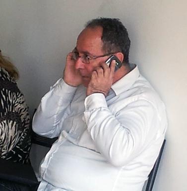 """יהודה שרוני, לשעבר הכתב הכלכלי הבכיר של """"מעריב"""" (צילום: """"העין השביעית"""")"""