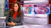 יונית לוי, מגישת המהדורה המרכזית של חדשות ערוץ 2, מדווחת (צילום מסך)