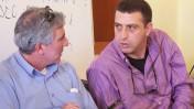 """זליג רבינוביץ' (מימין) ודני זקן (צילום: """"העין השביעית"""")"""
