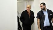 אהוד אולמרט, השבוע בבית-המשפט המחוזי בירושלים (צילום: יואב ארי דודקביץ')