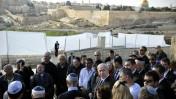 בנימין נתניהו, ראש ממשלת ישראל, אתמול באזכרתו של מנחם בגין (צילום: יואב ארי דודקביץ')