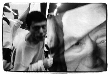 מטה שרון לאחר הניצחון: תדמית המועמד לא נסדקה (צילום: מיקי קרצמן)