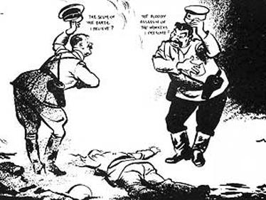 קריקטורות של דייוויד לואו מ-1938