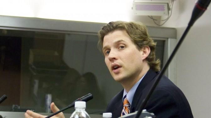 אלק רוס, יועץ בכיר לחדשנות במחלקת המדינה האמריקאית (צילום: עידו קינן, חדר 404, cc-by-sa)