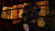 """נחום ברנע, הספרייה הלאומית בירושלים. 28.12.10 (צילום: """"העין השביעית"""")"""
