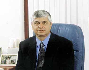 """בני כשריאל, ראש עיריית מעלה אדומים זה 18 שנה (צילום: יח""""צ)"""