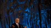 ראש ממשלת ישראל בנימין נתניהו אתמול בטקס ביד-ושם (צילום: דוד ועקנין)