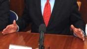 """ראש הממשלה בנימין נתניהו אתמול במפגש עם אנשי עסקים מתחום האנרגיה (צילום: לע""""מ)"""