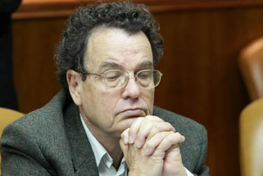פרופ' דניאל פרידמן בעת שכיהן כשר המשפטים, בכנסת. 27.1.08 (צילום: פלאש 90)