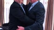 שר הביטחון אהוד ברק נפגש אתמול בתל-אביב עם שר ההגנה האמריקאי ליאו פאנטה (צילום: אריאל חרמוני, משרד הביטחון)