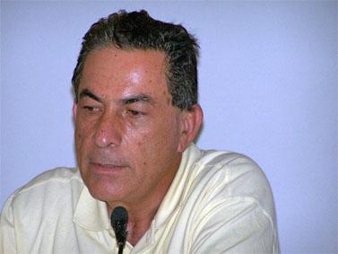 """גדעון לוי, אוניברסיטת תל-אביב. 10.6.10 (צילום: """"העין השביעית"""")"""