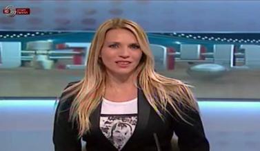 שרון פרי בערוץ הראשון (צילום מסך)
