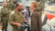 """סא""""ל שלום אייזנר והפעיל אנדרס איאס (מתוך הסרטון)"""