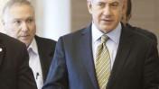 ראש הממשלה בנימין נתניהו וראש לשכתו נתן אשל צועדים בכנסת (צילום: ליאור מזרחי)