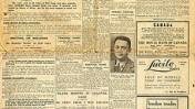 """שער המהדורה האירופית של ה""""דיילי מייל"""" מה-25 באוקטובר 1929"""