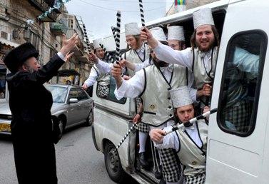פורים בירושלים, אתמול (צילום: מרק ניימן)