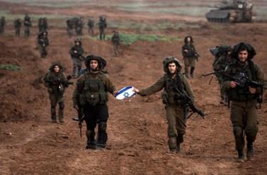 """יציאת חיילי צה""""ל מרצועת עזה בתום מבצע """"עופרת יצוקה"""" (צילום: דובר צה""""ל)"""