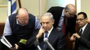 בנימין נתניהו, ראש ממשלת ישראל, אתמול בישיבת הממשלה (צילום: קובי גדעון)