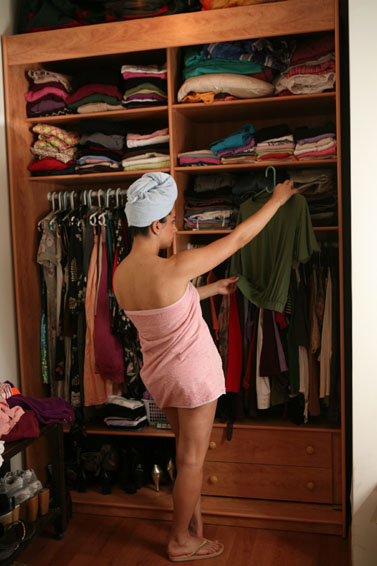 ובכל מקרה, בסוף לא יהיה מה ללבוש (צילום: פלאש 90)