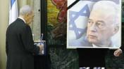 נשיא המדינה שמעון פרס בטקס זיכרון לראש הממשלה יצחק רבין (צילום: מיכל פתאל)