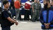 שחרור אסירים פלשתינים, אתמול במחסום ביתוניא (צילום: קובי גדעון)
