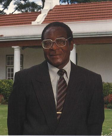 רוברט מוגאבה (צילום: רוברט מוגאבה, 1991)